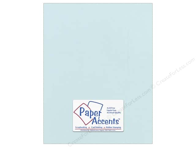 Cardstock 8 1/2 x 11 in. #871C Pearlized Delphinum by Paper Accents (25 sheets)