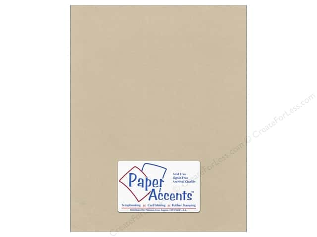 Pearlized Paper 8 1/2 x 11 in. #8838 Taupe by Paper Accents (25 sheets)
