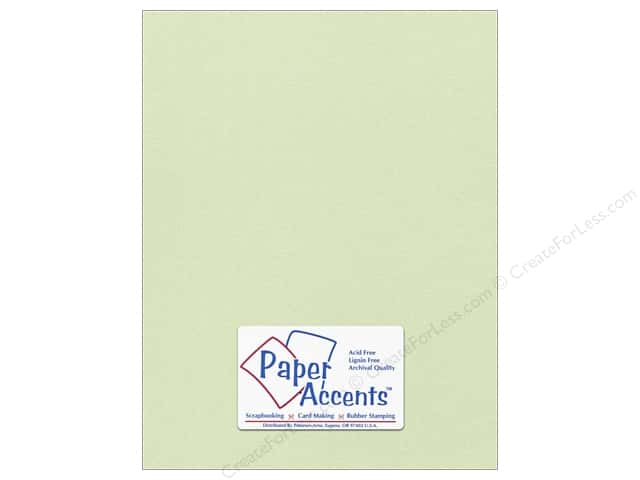 Paper Accents Pearlized Paper 8 1/2 x 11 in. #8842 Honeydew (25 sheets)