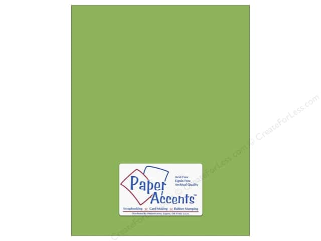 Cardstock 8 1/2 x 11 in. #8847 Fluorescent Neon Green by Paper Accents (25 sheets)