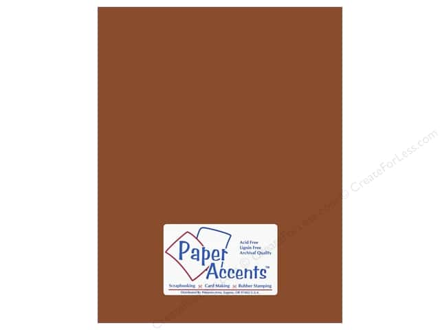 Cardstock 8 1/2 x 11 in. #18068 Smooth Mocha Divine by Paper Accents (25 sheets)