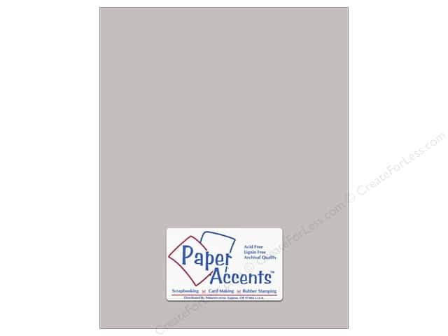Paper Accents Cardstock 8 1/2 x 11 in. #18078 Smooth Hurricane (25 sheets)