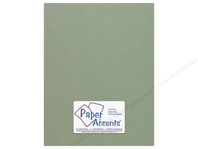 Cardstock 8 1/2 x 11 in. #64 Smooth Juniper by Paper Accents (25 sheets)