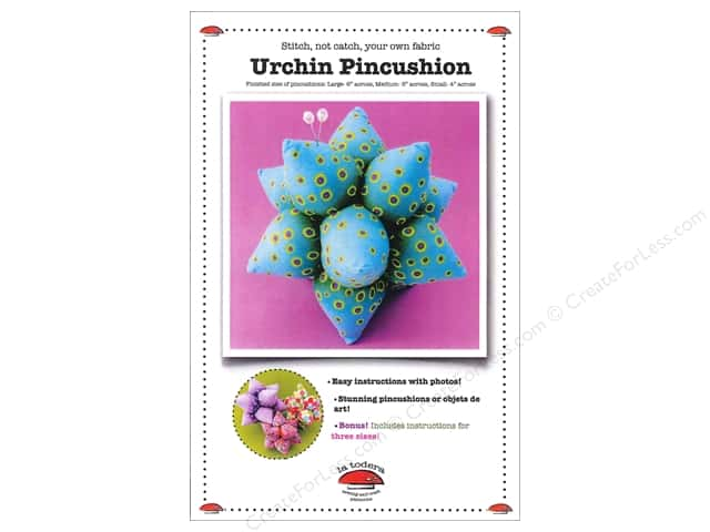 La Todera Urchin Pincushion Pattern