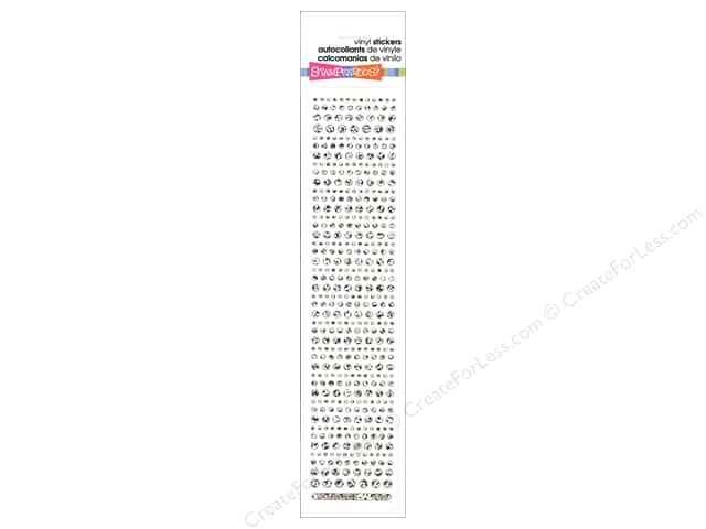 Stampendous Sticker Sparklers Dot Silver