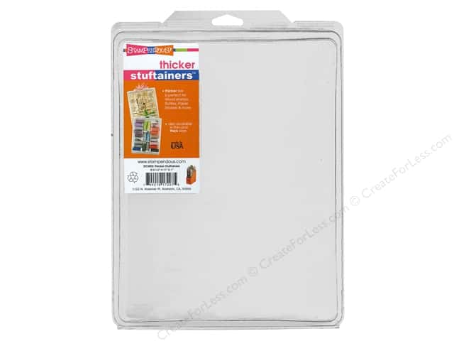 Stampendous Thicker Stuftainer 8 1/2 x 11 x 1 in.