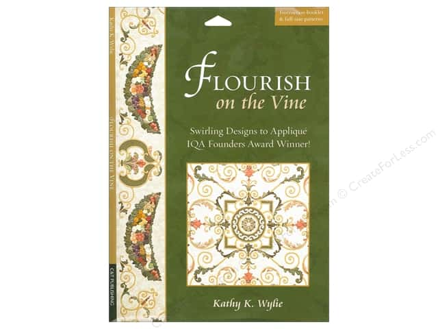 C&T Publishing Flourish On The Vine Book by Kathy K. Wylie
