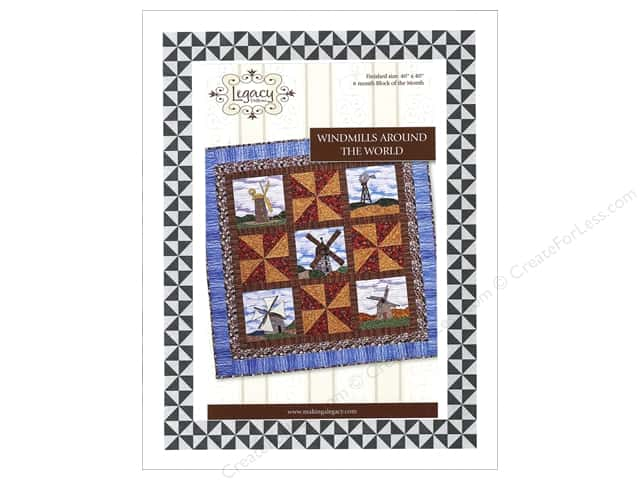 Legacy Windmills Around The World Pattern