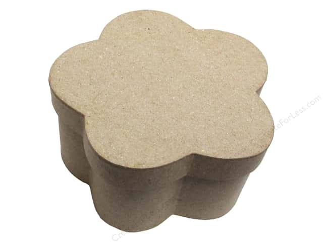 PA Paper Mache Flower Box  4 3/4 in.