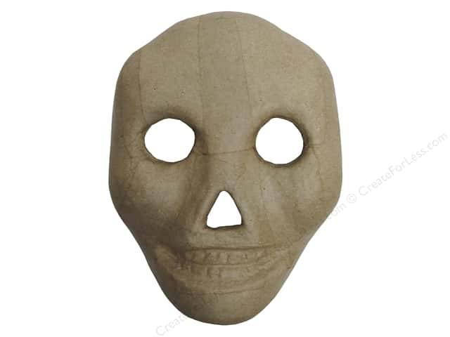 PA Paper Mache Kid Skull Mask 9 1/2 in.