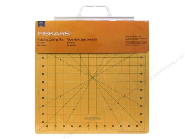 Fiskars Self-Healing Cutting Mat 14 x 14 in. Rotating