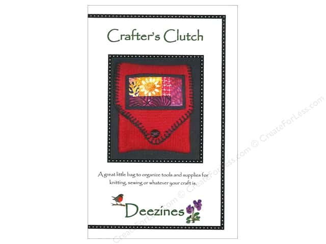 Deezines Patterns Crafter's Clutch Pattern