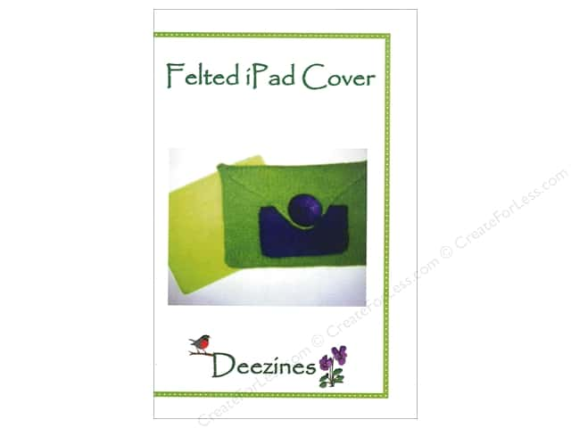 Deezines Patterns Felted iPad Cover Pattern