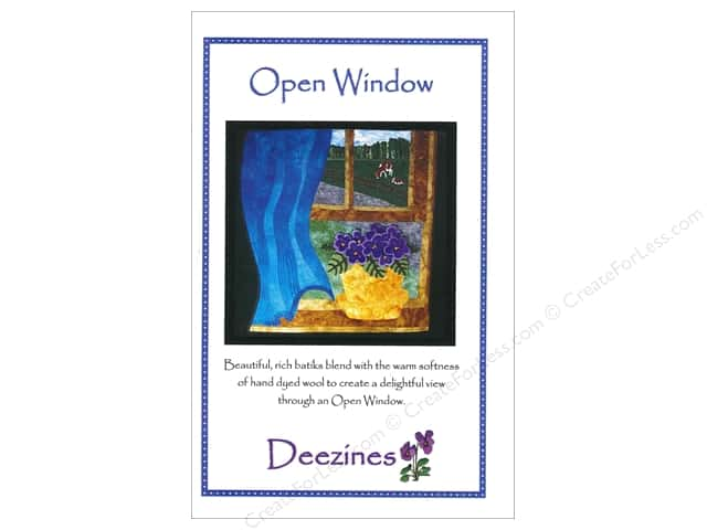 Deezines Patterns Open Window Pattern