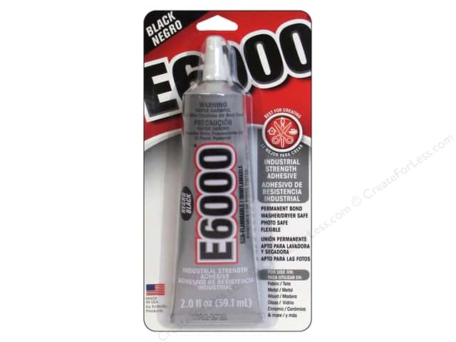 Eclectic Adhesive E6000 2 oz. Black