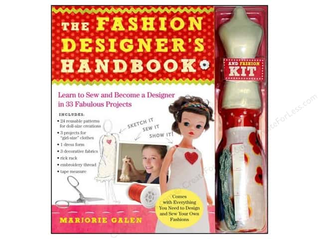 Workman Publishing The Fashion Designers Handbook Book