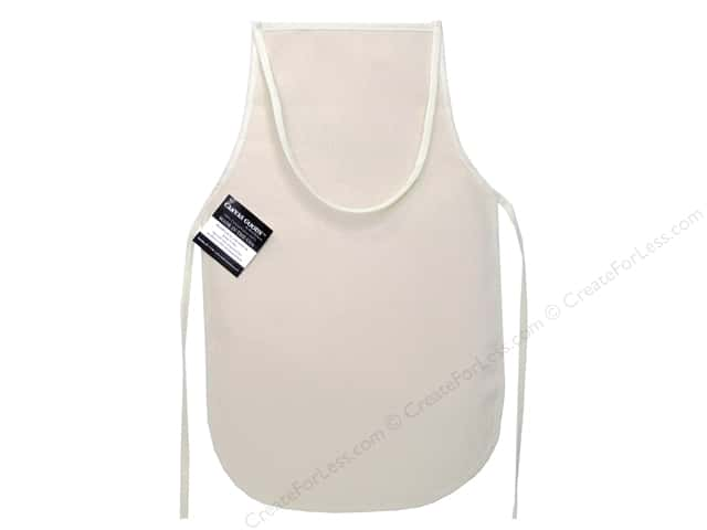 Mark Richards Canvas Child Apron 12 x 19 in. Natural