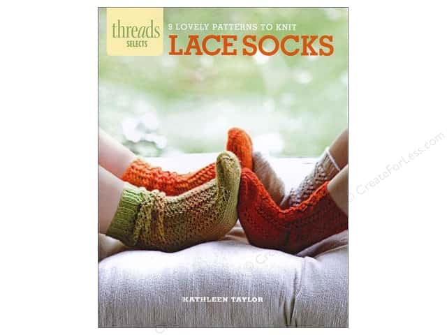 Taunton Press Thread Selects Lace Socks Book