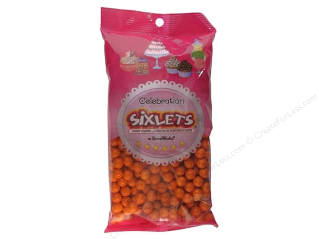 SweetWorks Celebration Sixlets 14 oz. Orange