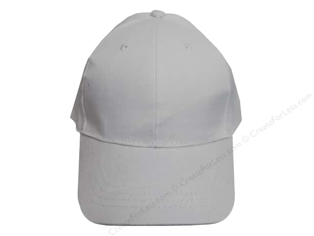Mark Richards Blank Baseball Hat White