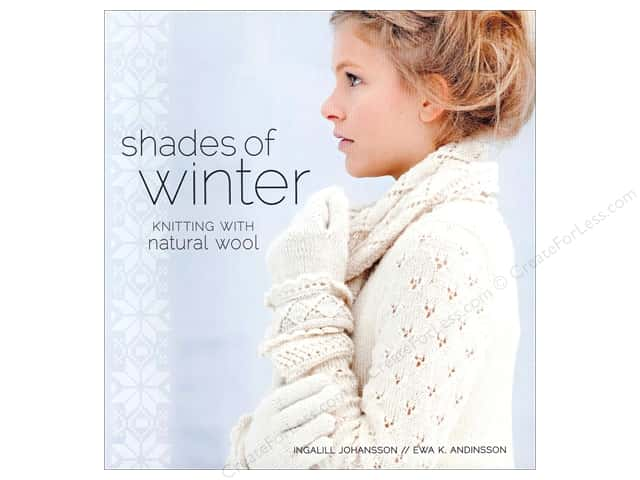 Interweave Press Shades Of Winter Knitting with Natural Wool Book