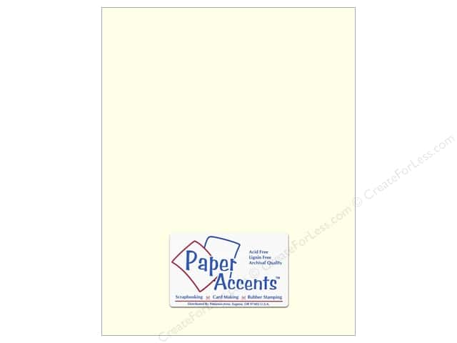Paper Accents Cardstock 8 1/2 x 11 in. #63 Smooth Eggshell (25 sheets)