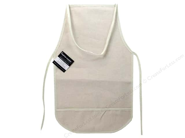 Mark Richards Blank Canvas Apron with Pocket Child Natural