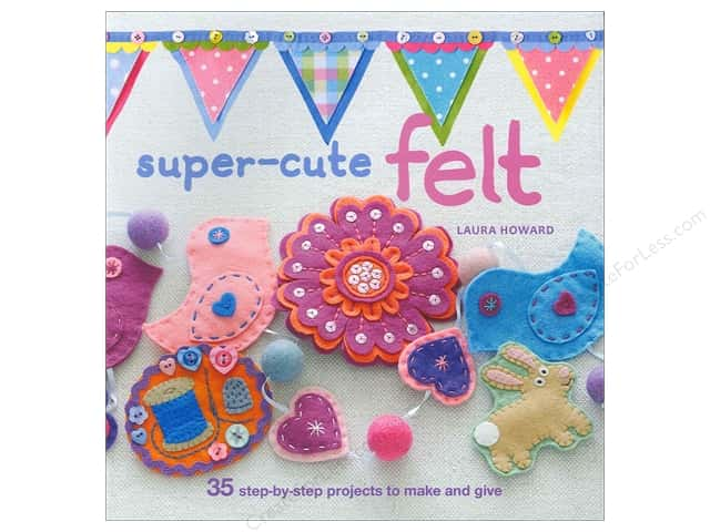 Cico Super Cute Felt Book by Laura Howard