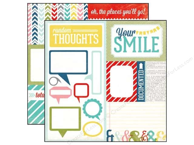 Echo Park 12 x 12 in. Paper Volume 1 Collection Random Thoughts (15 sheets)