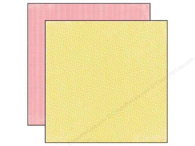 Echo Park 12 x 12 in. Paper Volume 1 Collection Yellow (15 sheets)