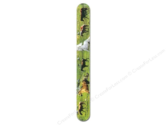 FotoFiles Nail File 7 in. Horses In Field