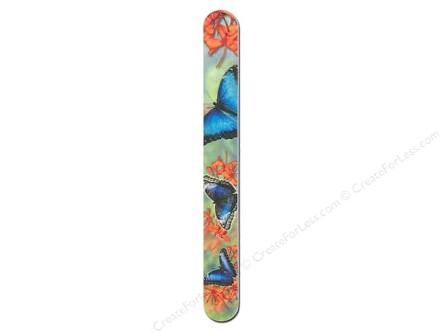 FotoFiles Nail File 7 in. Blue Morpho