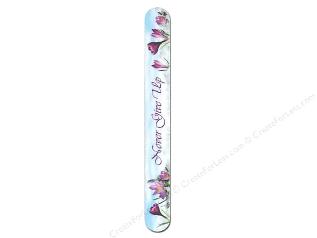 FotoFiles Nail File 7 in. Never Give Up