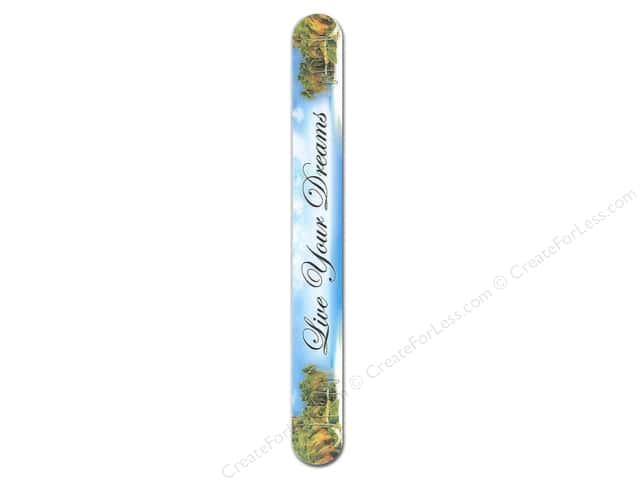 FotoFiles Nail File 7 in. Live Your Dreams