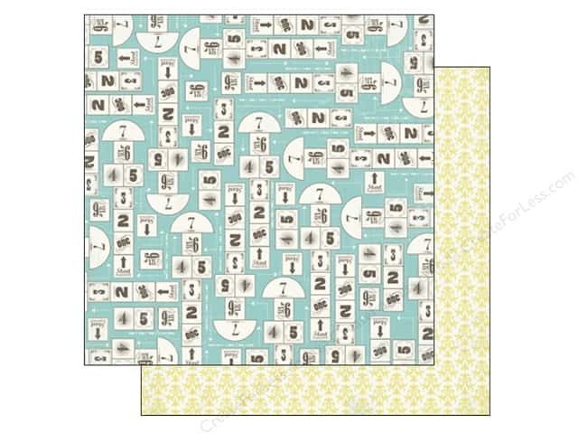 Carta Bella 12 x 12 in. Paper True Friends Hopscotch (25 sheets)