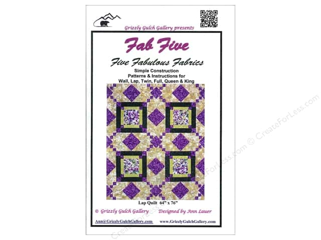 Grizzly Gulch Gallery Fab Five Pattern