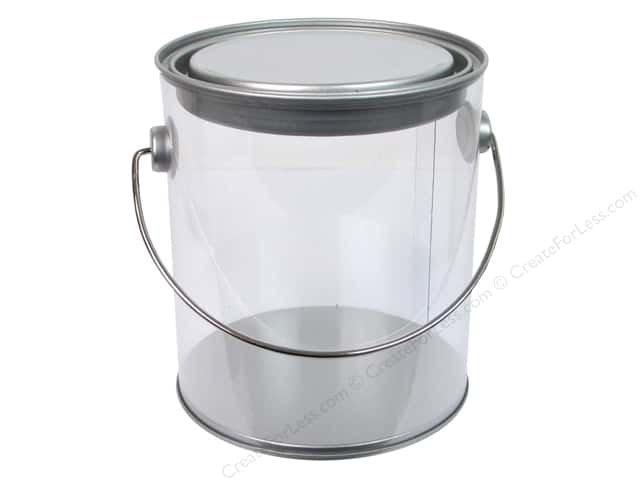 Sierra Pacific Storage Pail With Lid & Handle Mini 4 3/8 in. x 5 in. Quart