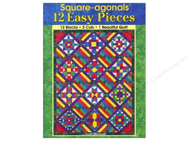 Landauer Square-agonals 12 Easy Pieces Book