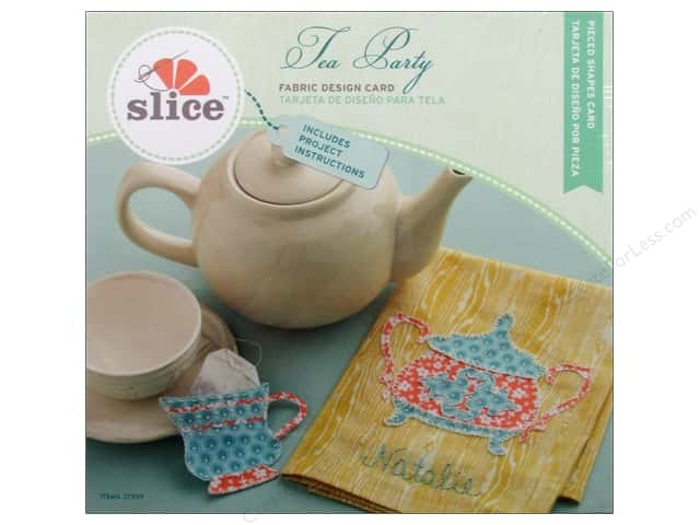 Slice Fabric Design Card Tea Party