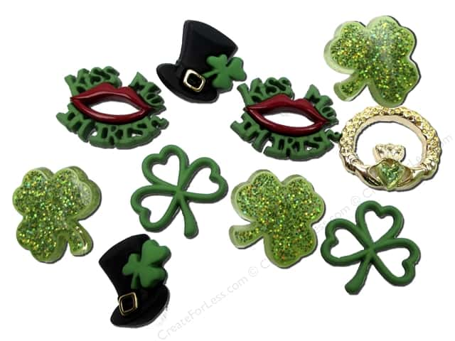 Jesse James Dress It Up Embellishments St Patrick's Day Collection When Irish Eyes are Smiling