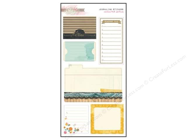 Glitz Design Sticker Journaling Uncharted Waters