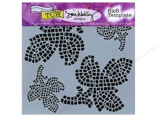 The Crafter's Workshop Template 6 x 6 in. Mosaic