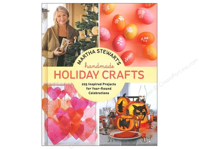 Potter Publishers Martha Stewart's Handmade Holiday Crafts Book