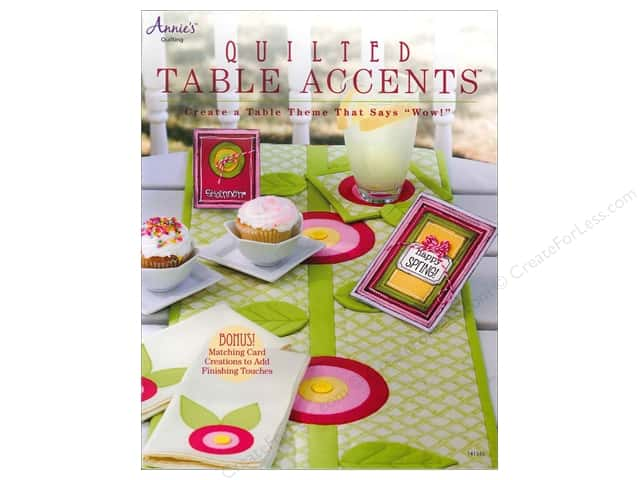 Annie's Quilted Table Accents Book