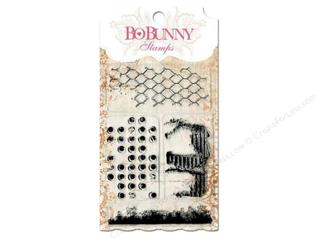 Bo Bunny Clear Stamps Distressed Textures