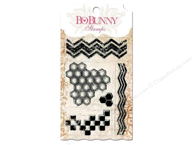 Bo Bunny Clear Stamps Geometric Patterns
