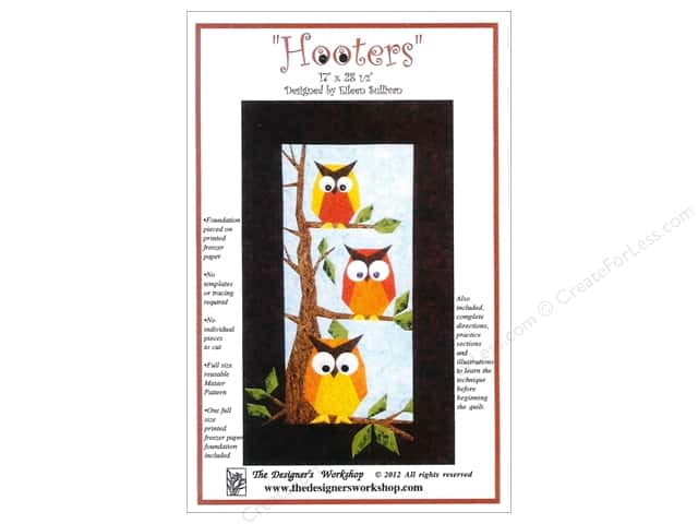 The Designers Workshop Hooters Pattern by Eileen Sullivan