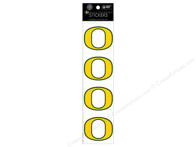 "Sports Solution Sticker Pack 2"" Oregon yellow"