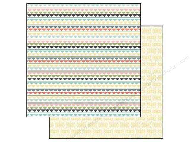 Carta Bella 12 x 12 in. Paper So Noted Tiny Lace (25 sheets)