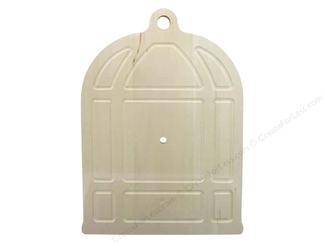 Walnut Hollow Basswood Clock Surface Birdcage
